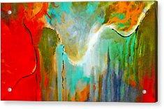 The Presence Acrylic Print by Lisa Kaiser