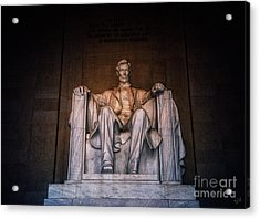 The President Acrylic Print by Nishanth Gopinathan