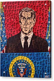 The Presidential Puppet Acrylic Print