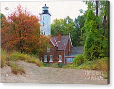 The Presque Isle Lighthouse Acrylic Print
