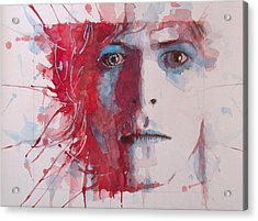 The Prettiest Star Acrylic Print by Paul Lovering