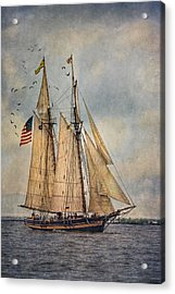The Pride Of Baltimore II Acrylic Print