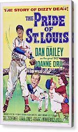 The Pride Of St.louis, Dan Dailey Acrylic Print