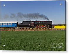 The Pride Of The Czech Locomotive Design Acrylic Print by Christian Spiller