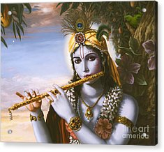 The Primordial Flute Player Acrylic Print