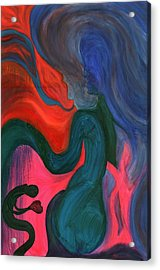 The Prince And The Dragons Acrylic Print by Mark Minier