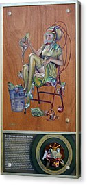 The Princess And The Frogs Acrylic Print by Patrick Anthony Pierson