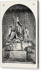 The Princess Charlotte Monument. The Princess Charlotte Acrylic Print