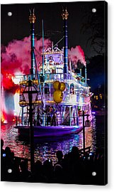 The Mark Twain Disneyland Steamboat  Acrylic Print