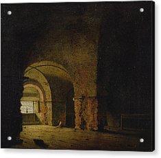 The Prisoner, C.1787-90 Oil On Canvas Acrylic Print