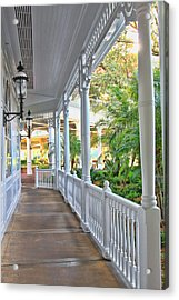 The Promenade Acrylic Print