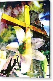 The Promise Acrylic Print by Eleanor Abramson