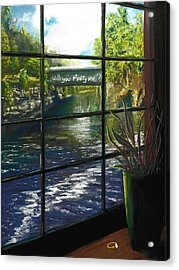 The Proposal Acrylic Print by Peter Jackson