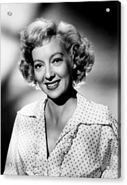 The Prowler, Evelyn Keyes, 1951 Acrylic Print by Everett