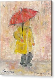 The Puddle Acrylic Print by David Dossett