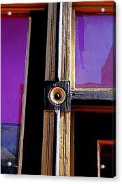 The Purple Door Acrylic Print