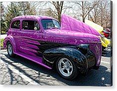 The Purple Acrylic Print