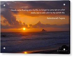 The Purpose Of Clouds 1 Acrylic Print