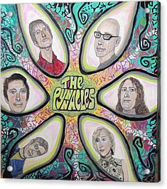 The Pynnacles. Acrylic Print