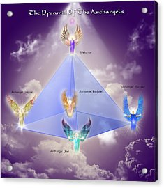 The Pyramid Of The Archangels Acrylic Print