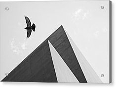 The Pyramids Of Love And Tranquility Acrylic Print
