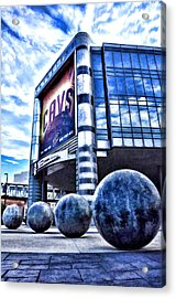 The Q - Home Of The 2016 Nba Champion Cleveland Cavaliers - 1 Acrylic Print