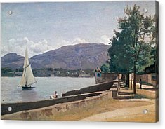 The Quai Des Paquis In Geneva Acrylic Print