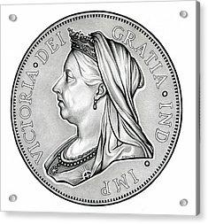 The Queen - Original Acrylic Print