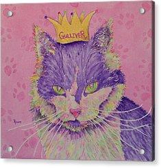 The Queen Acrylic Print by Rhonda Leonard