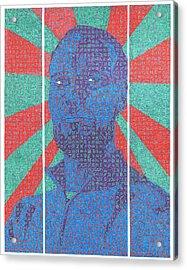The Question Acrylic Print by Daniel Zaug