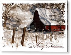 The Quiet - A Christmas Card Acrylic Print