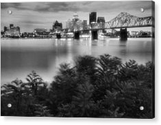 The Quiet City Acrylic Print by Steven Ainsworth