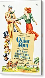 The Quiet Man, Top From Left John Acrylic Print by Everett