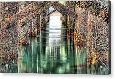 The Quiet Of Green Acrylic Print by JC Findley