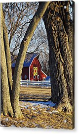 The Quilt Barn Acrylic Print