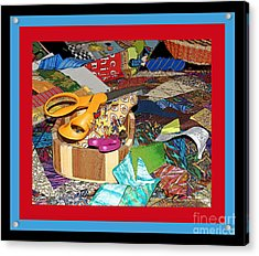 The Quilters Table Acrylic Print