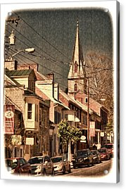 The Quintessential Semiquincentennial - Shepherdstown Wv  Acrylic Print