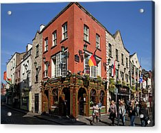 The Quys, Tiled Victorian Pub, Temple Acrylic Print by Panoramic Images
