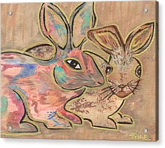 The Rabbit Hole  Acrylic Print by Tish Eggleston