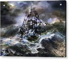 The Rage Of Poseidon IIi Acrylic Print