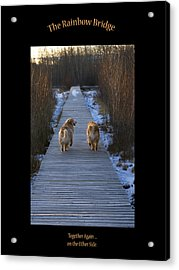 The Rainbow Bridge Acrylic Print
