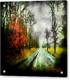 The Rainy Days Of Summer Acrylic Print by Vincent DiNovici