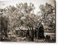 Acrylic Print featuring the photograph The Ranch  by Amber Kresge