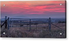 The Ranch Acrylic Print by Peter Tellone
