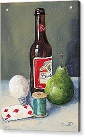 The Random Five  Acrylic Print by Torrie Smiley