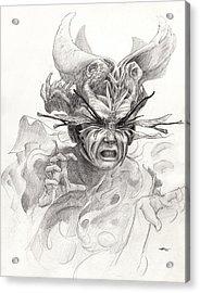 The Rascal Acrylic Print by Ethan Harris