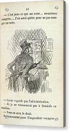 The Rash Traveller Acrylic Print by British Library