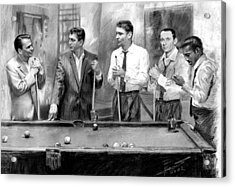 The Rat Pack Acrylic Print by Viola El