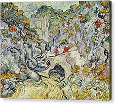 The Ravine Of The Peyroulets Acrylic Print by Vincent van Gogh