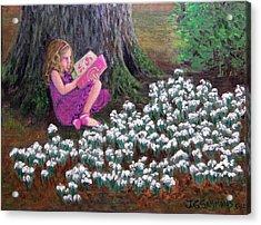 The Reading Tree Acrylic Print